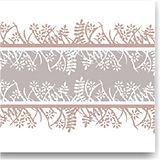 Napkin Fato Airlaid, Fabric Texture, Coffee Garden Design, 50pcs., 40x40cm