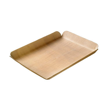 Tray Leone Fingerfood Legno, Wood, 24 pcs, 15x11.7x1.5cm