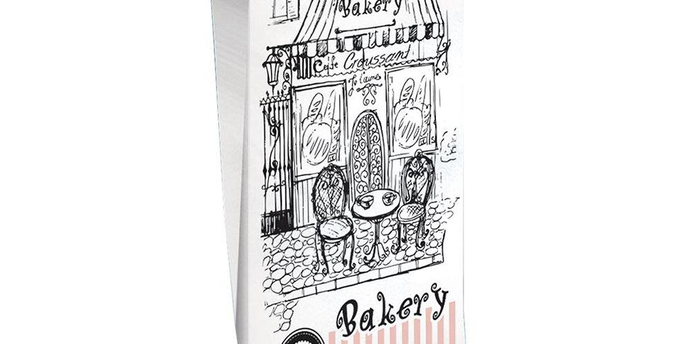Pouch Bag, Bakery Design, 12.5x28cm, 1kg