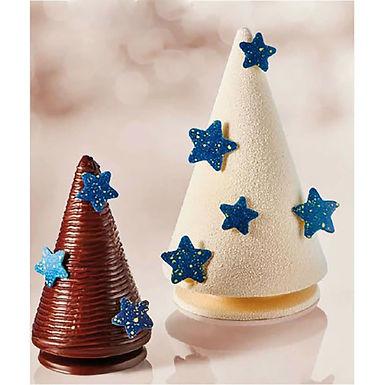 Christmas Decoration Little Star Martellato Chablon, Silicone, 60 pcs, Ø26x1.5mm