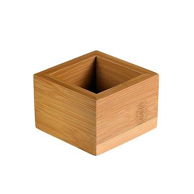Buffet Box Leone, Bamboo, Natural, 1 pc, 7.7x7.7x5cm