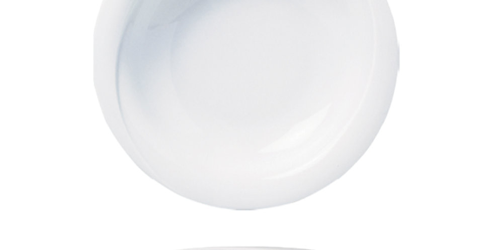 Deep Plate Gural Porselen X-Tanbul, Porcelain, White, 2 Sizes