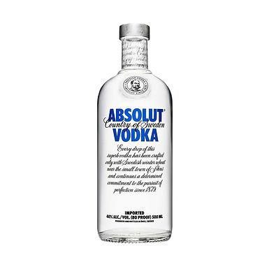Absolut Blue Label Vodka, 500ml