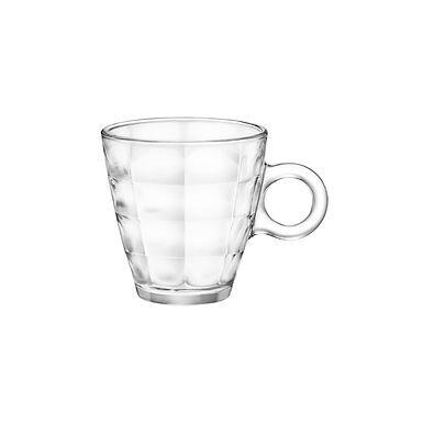 Cappuccino Cup Bormioli Rocco Cube, Tempered, 220ml