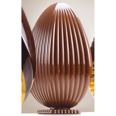 Egg Mold Kit 3 Martellato Prestige Easter, Thermoformed Plast., Ø120x185mm, 300g