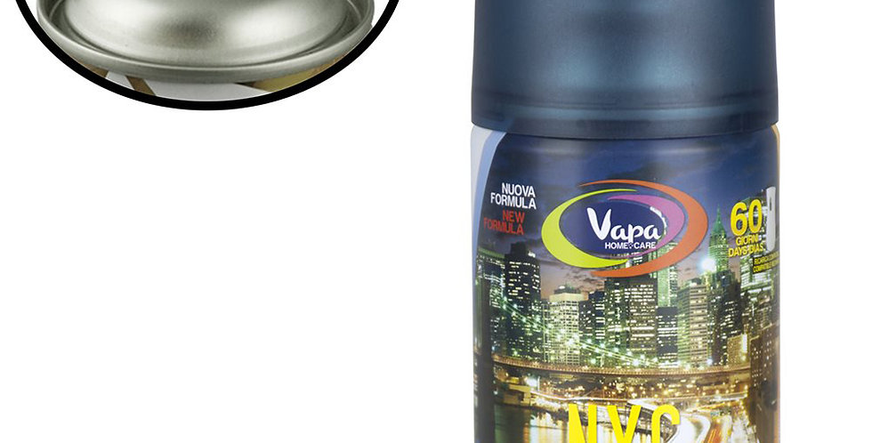 Air Freshener Spray Vapa New York, Suitable for Machines, 250ml