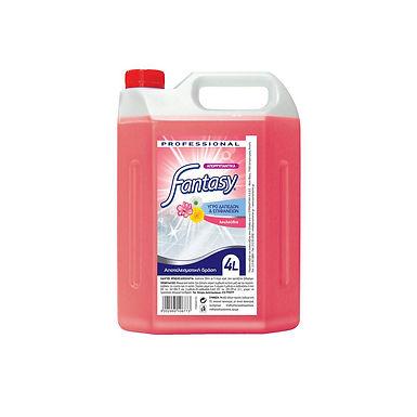 Universal Detergent Fantasy, Flowers Perfume, 4L