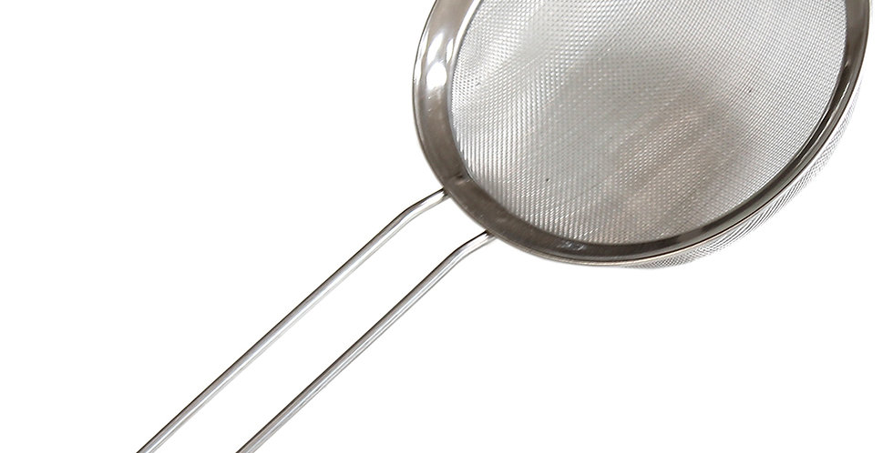 Bar Strainer with Mesh, Inox, ∅10cm
