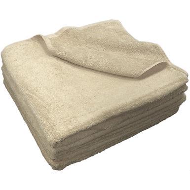 Beach Towel Fragente, Beige, 16/1, 450gr/m², 75x150cm