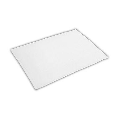 Bathroom Mat Fragente, White, 50x70cm