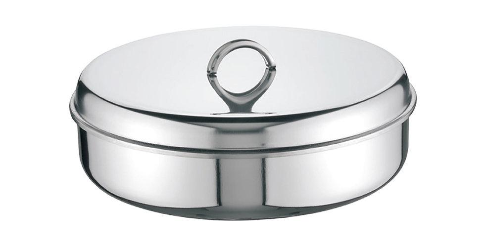 Baking Pan with Lid Super Casa, Round, Inox 18/C, Ø30cm