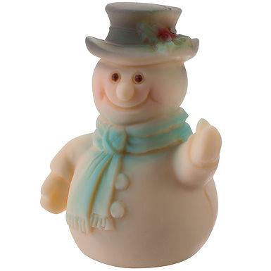 Mini Snowman Mold Martellato Silicone Idea, Silicone, 55x40x65mm