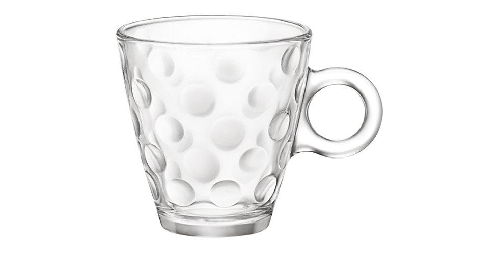 Cappuccino Cup Bormioli Rocco Dots, Tempered, 220ml