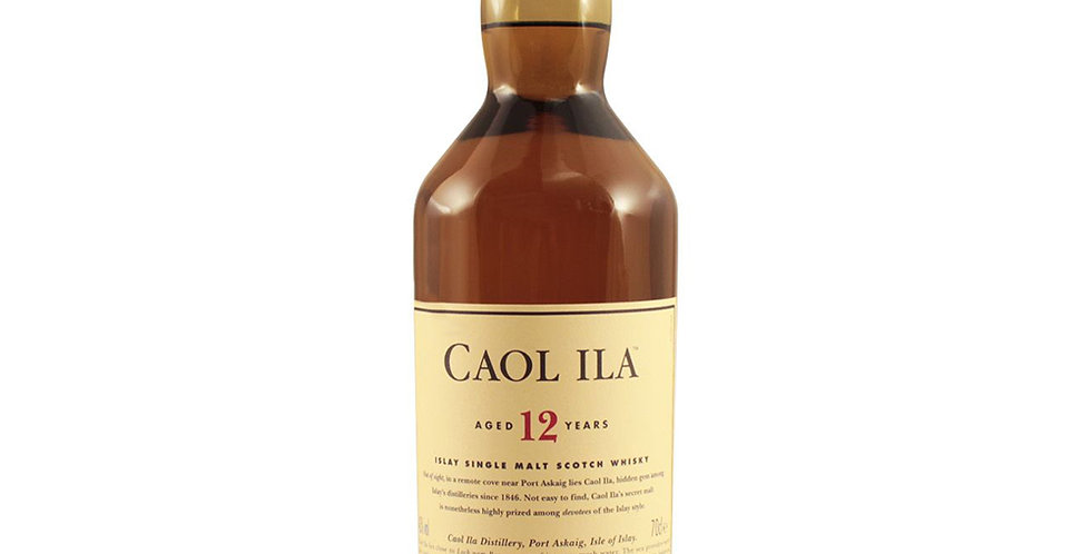 Caol Ila Aged 12 Years Scotch Whisky, 700ml