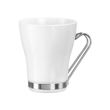 Cappucino Cup Bormioli Rocco Aromateca Oslo White, 235ml