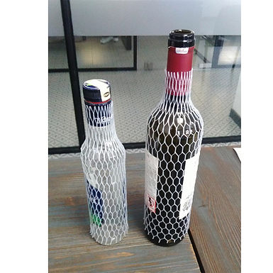 Bottle Protecting Net, Plastic, Natural Color, 1000m