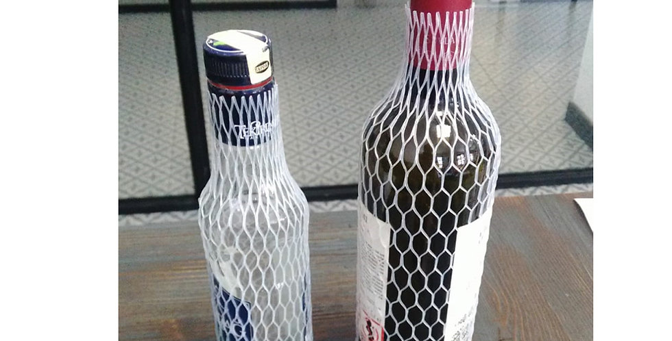 Bottle Protecting Net, Plastic, Natural Color, 1000m