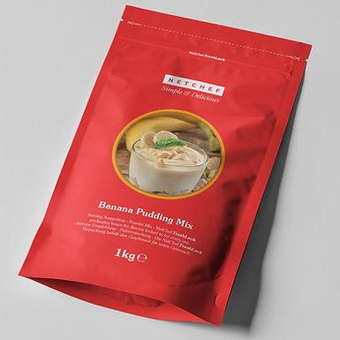 Banana Pudding Mix NETCHEF, 1kg