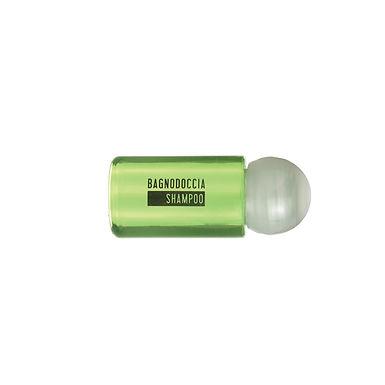 Shower Gel/Shampoo in Bottle Leone, 100pcs, Green, 20ml