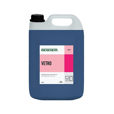 Glass Detergent Nicochem Vetro Blue, Sea Breeze Perfume, 4L