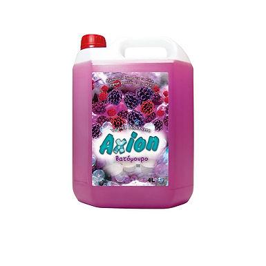 Liquid Dishwashing Detergent Axion, Raspberry Perfume, 4L