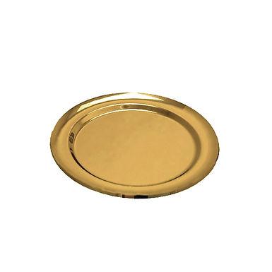 Disposable Presentation Tray Goldplast, Round, PET, 3 Colors, Ø27cm