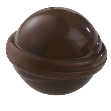 3D Sphere Chocolate Mold Martellato Praline 3D, PC, 28 pcs, 28x24x24mm, 8g