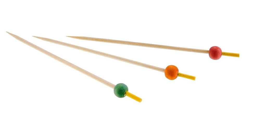 Ball Sticks Leone, Bamboo, 100 pcs, 15cm