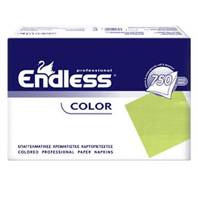 Professional Napkin Endless, Lime, 1ply, 730gr, 750pcs, 24x24cm