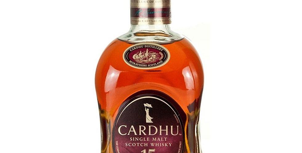 Cardhu Aged 15 Years Scotch Whisky, 700ml