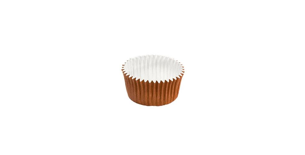 Disposable Muffin Mold, Hard Paper, Internal PET Coating, Ø30x17.5mm