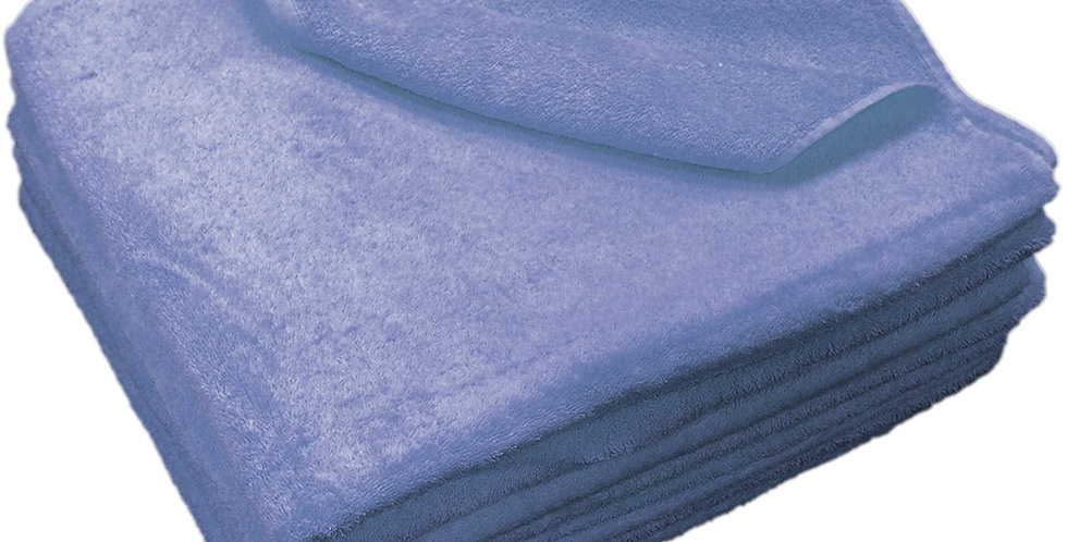 Beach Towel Fragente, Blue, 20/2, 500gr/m², 80x150cm