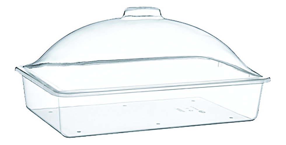 Buffet Tray, with Lid, Rectangle, Polystyrene, 51x31x20cm