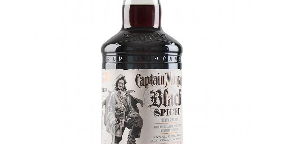 Captain Morgan Black Spiced Rum, 1L