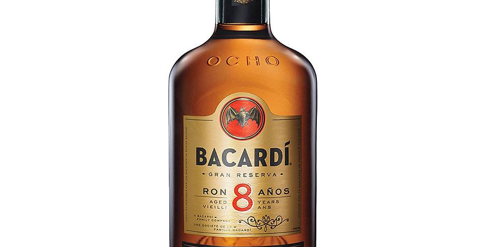 Bacardi Aged 8 Years Rum, 700ml