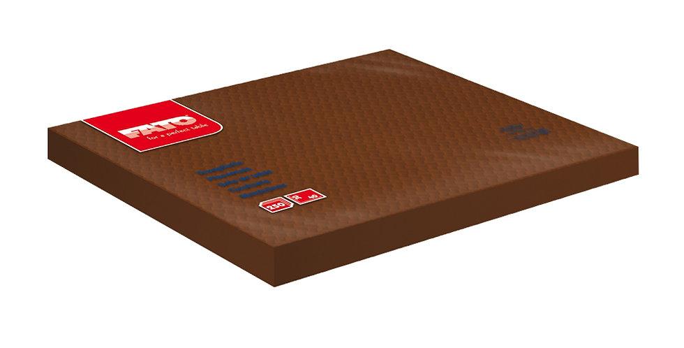 Placemat Fato, Chocolate, 250pcs., 30x40cm