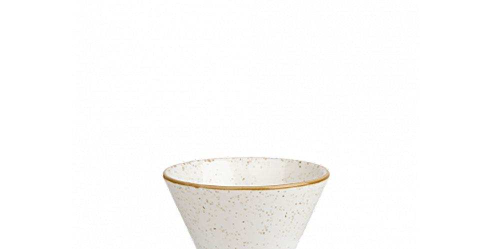 Sauce Bowl Churchill Stonecast, Round, Barley White