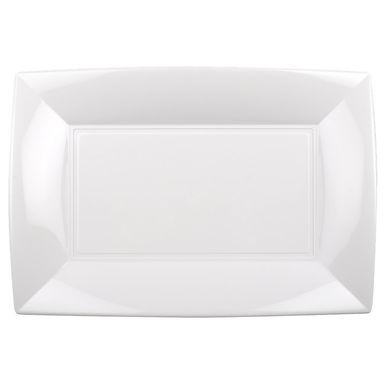Disposable Plate Goldplast, Rectangular, PP, 6 Colors, 34.5x23cm