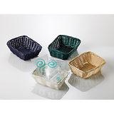 Basket for Amenities Leone, 10pcs, White, 14x11x5cm