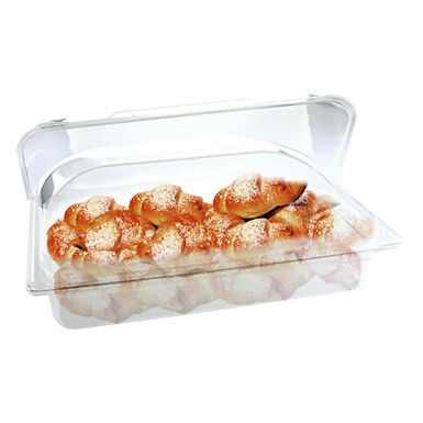 Buffet Tray, with Roll Top Lid, GN1/1, Polypropylene, 53x32.5x6.5cm