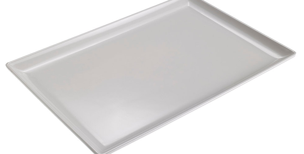 Rectangular Tray Leone, Melamine, White, 1 pc, 30x20x2cm