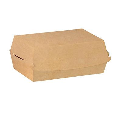 XL Burger Box, Kraft Paper, 15x10x7cm
