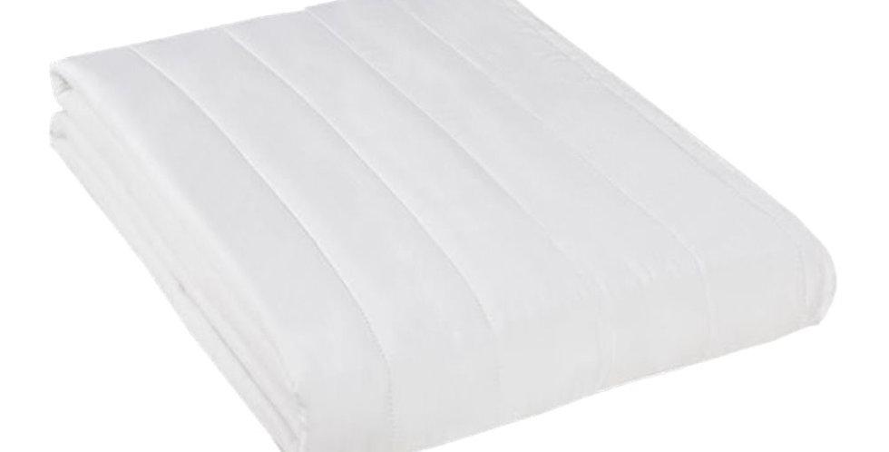 Single Quilt, White, Cover 48% Cotton, Quilt 120gr/m², 160x240cm
