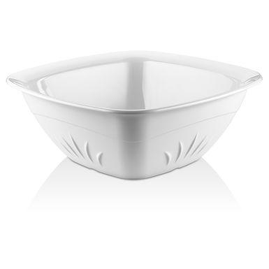 Bowl GastroPlast, Square, Polycarbonate, White