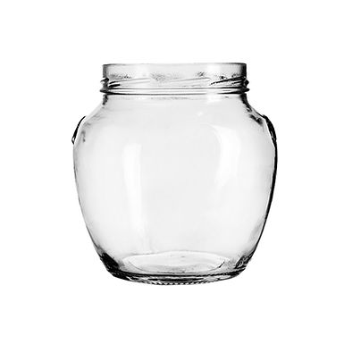 Jar Orcio, Glass, 580ml, TO 82mm
