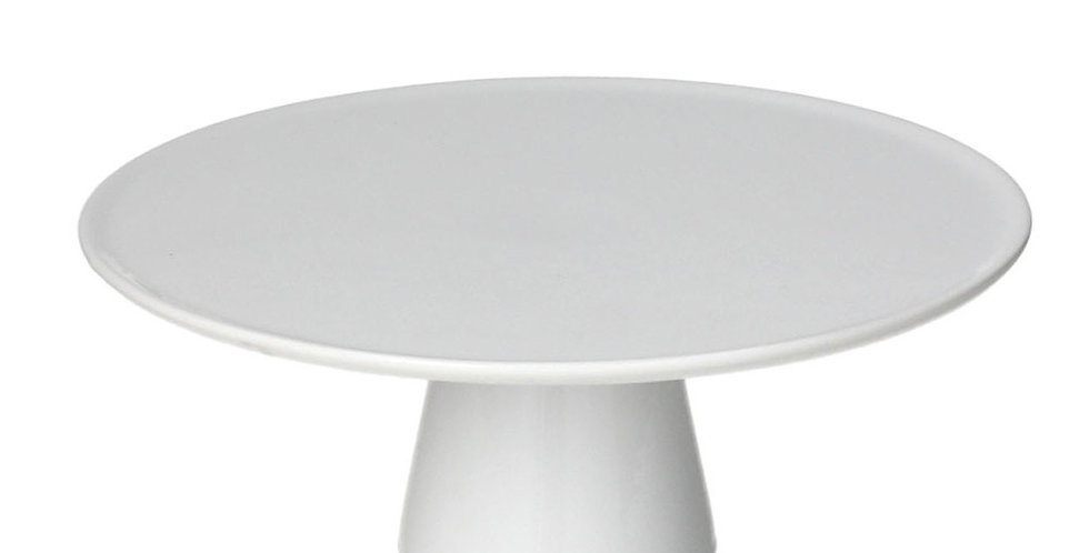 Footed Cake Plate Tognana Gourmet, Porcelain, 3 Sizes