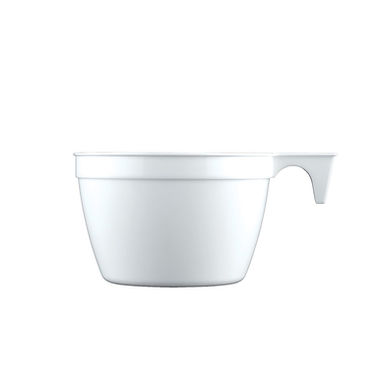 Disposable Cappucino Cup Goldplast, PP, 2 Color Options, 140ml