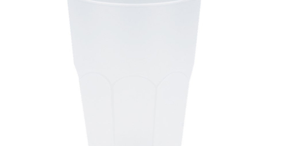 Disposable Cup Goldplast Old Fashion, PP, Multi-Use, Frosted, 400ml