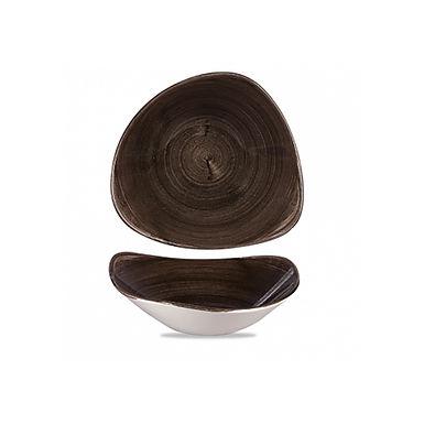 Bowl Churchill Stonecast Patina, Triangle, Iron Black