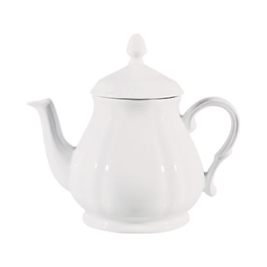 Teapot Gural Porselen Venice, Porcelain, White, 475ml
